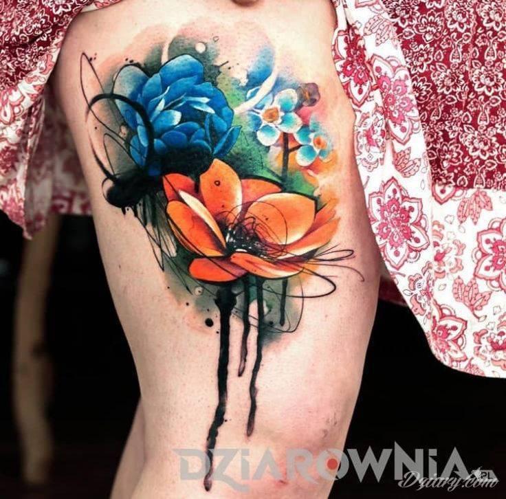 Kwiaty W Tatuażach Jakie Mają Znaczenie