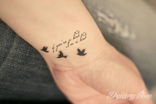 Malutkie Tatuaże Popkulturowa Moda