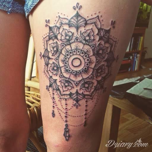 Mandala Trend W Tatuażu