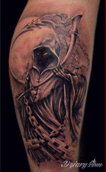 Memento Mori Tatuaże Ze śmiercią