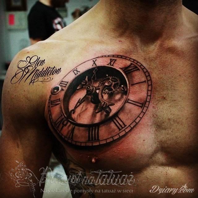 Niesamowite Tatuaże 3d