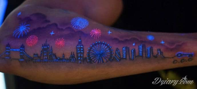 Tatuaż świecący W Ciemnościach Czyli Kilka Słów O Tatuażu Uv
