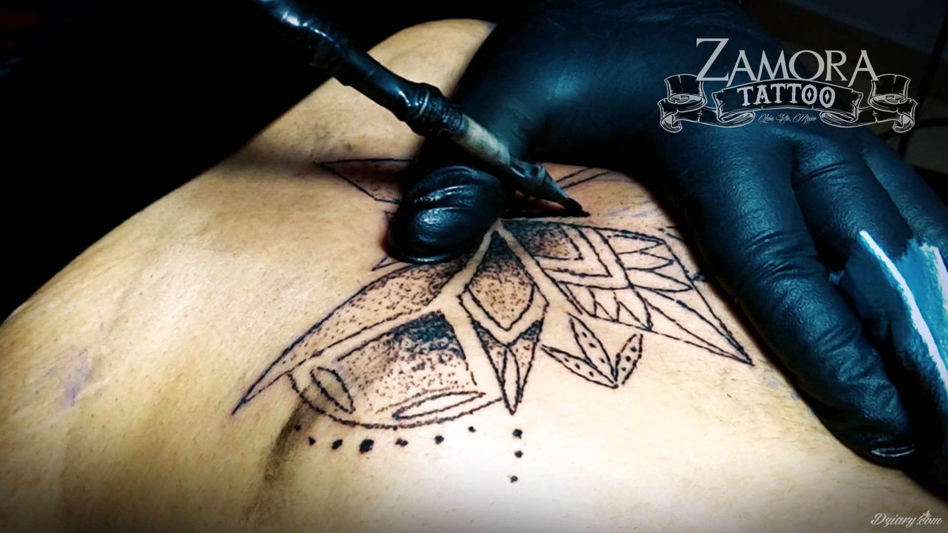 Tatuaż Bez Użycia Maszynki Handpoke