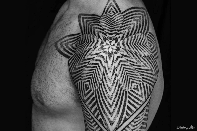 Tatuaże Kropa Kropka Kropeczka