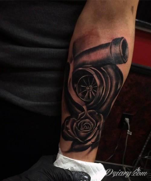 Tatuaże Motoryzacyjne