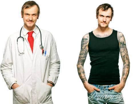 Tatuaże W Pracy