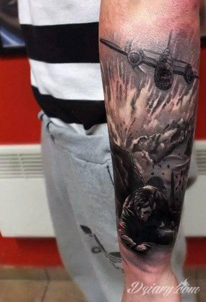 Tatuaże Wojskowe