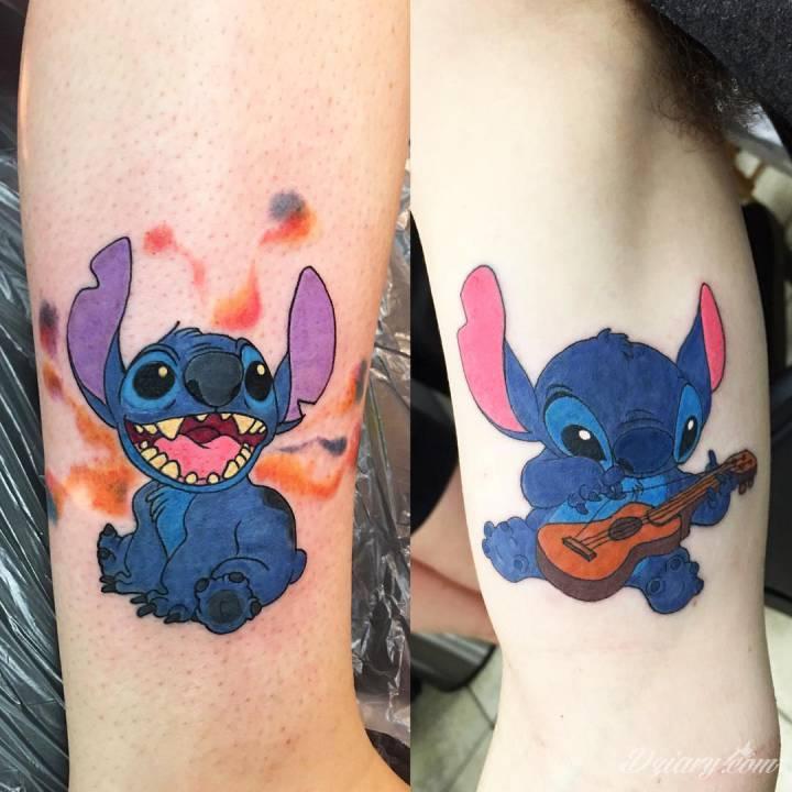 Cartoon tattoo to styl tatuażu zaliczany czasami do kategorii newschool....