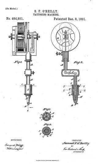 Czy Thomas Edison – znany i szanowany wynalazca – stworzył pierwszą maszynkę do tatuażu?