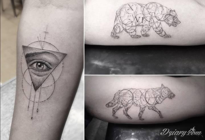 Tatuaże fineline Miłośnicy subtelnych, nienachlanych wzorów, poszukując inspiracji tatuażowych, powinni...