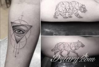 Delikatny tatuaż