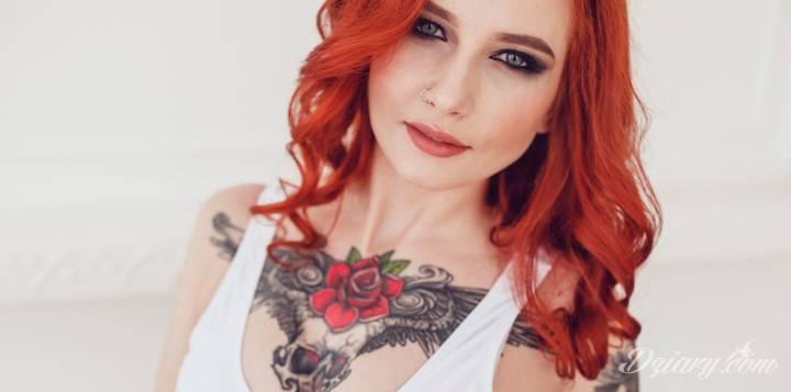 Gojenie tatuażu z kolagenem naturalnym Colway