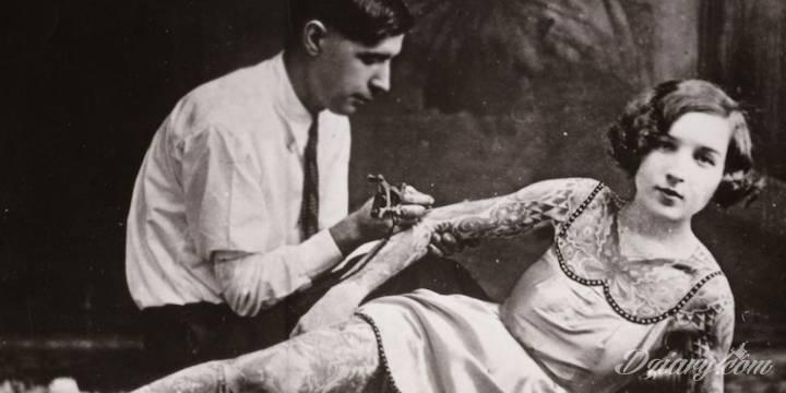Historia tatuażu