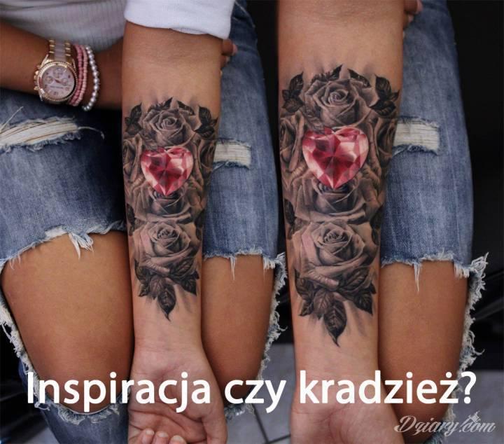 Inspiracja czy kradzież? Poruszając się w tematyce tatuażu, w sieci...