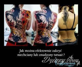 Jak pozbyć się nieudanego i niechcianego tatuażu?