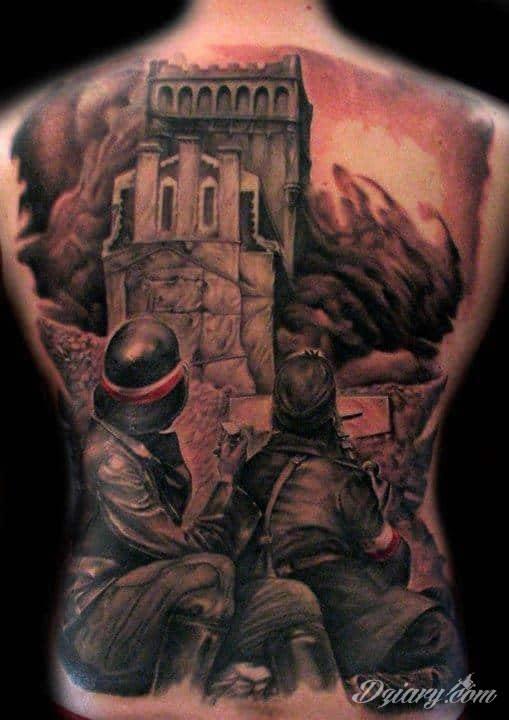 Tatuaż patriotyczny Tatuaż patriotyczny w ostatnim czasie zyskał duże uznanie....