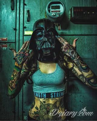 Niewiarygodne tatuaże Star Wars z 2015