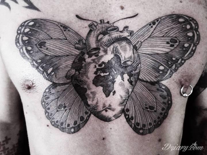 Otto D`Ambra i jego surrealistyczne tatuaże Chociaż surrealizm to głównie...