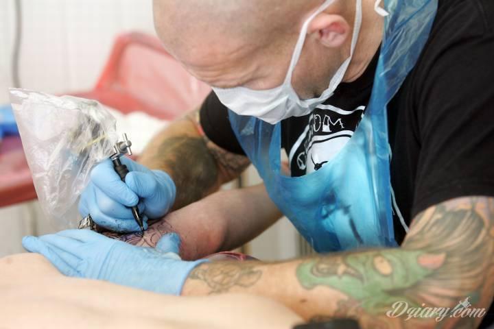 Ręce precz - czyli jak nie zepsuć pracy tatuatora!