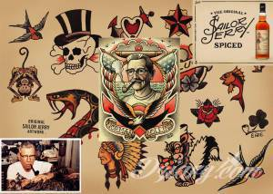 Sailor Jerry - legenda tatuażu