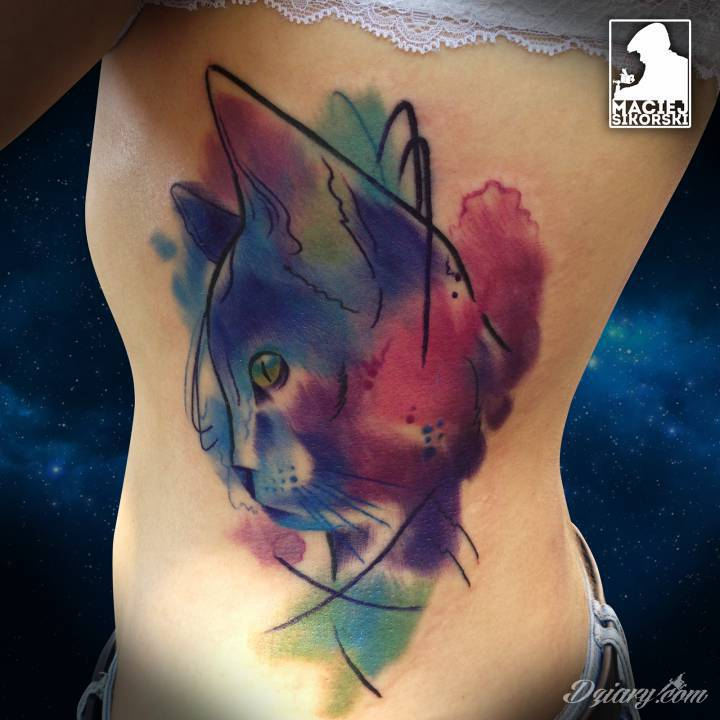 Style tatuażu: Akwarela (Watercolor tattoo)