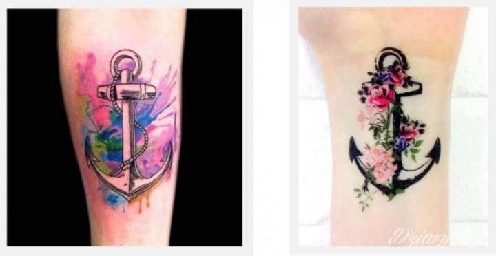 Symbolika kotwicy w sztuce tatuażu