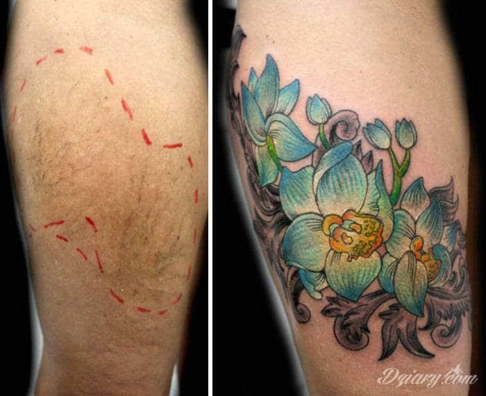 Ta artystka wykonuje darmowe tatuaże dla kobiet, które stały się ofiarami przemocy.