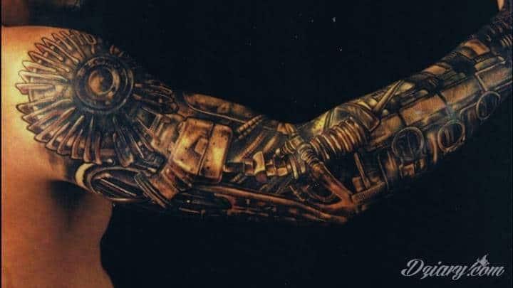 Hans Rudolf Giger był prekursorem w dziedzinie tatuażu biomechanicznego. To...