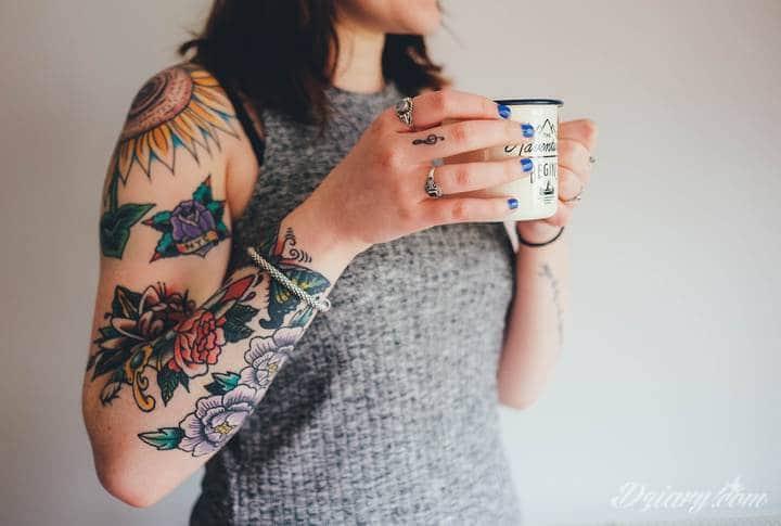 Tatuaż na... ścianie!
