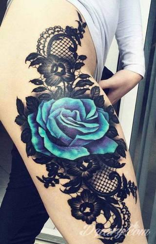 Tatuaż róża - symbolika i znaczenie