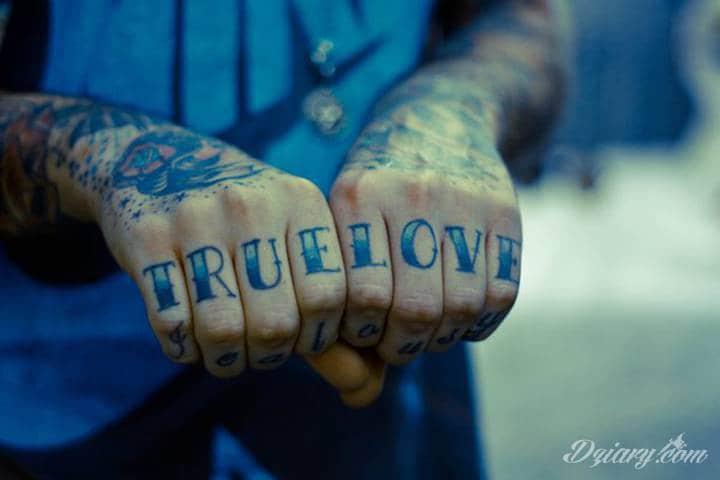 Tatuaż Sposób Na Wyznanie Miłości