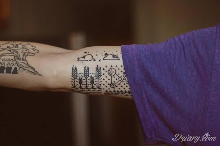 Tatuaże a trendy. Rok 2018 to minimalizm.