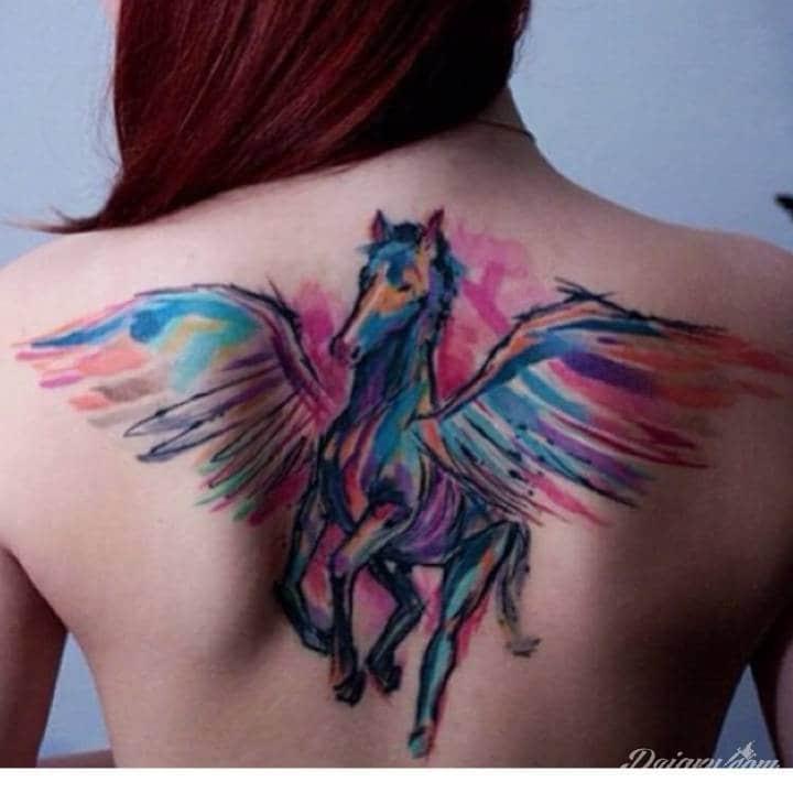 Tatuaże akwarelą