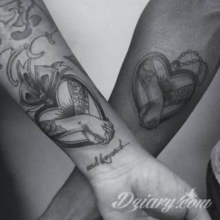 Tatuaże dla par - przepiękne inspiracje!