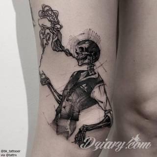 Tatuaże gotyckie