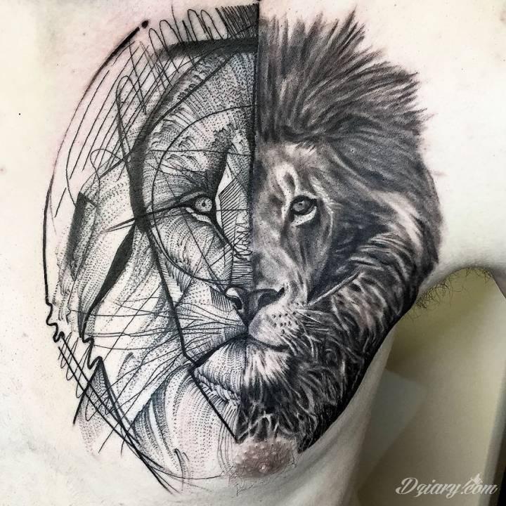 Tatuaże jak bazgroły?