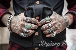 Tatuaże na dłoniach