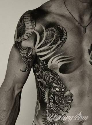 Tatuaże smoki – wzory i znaczenie