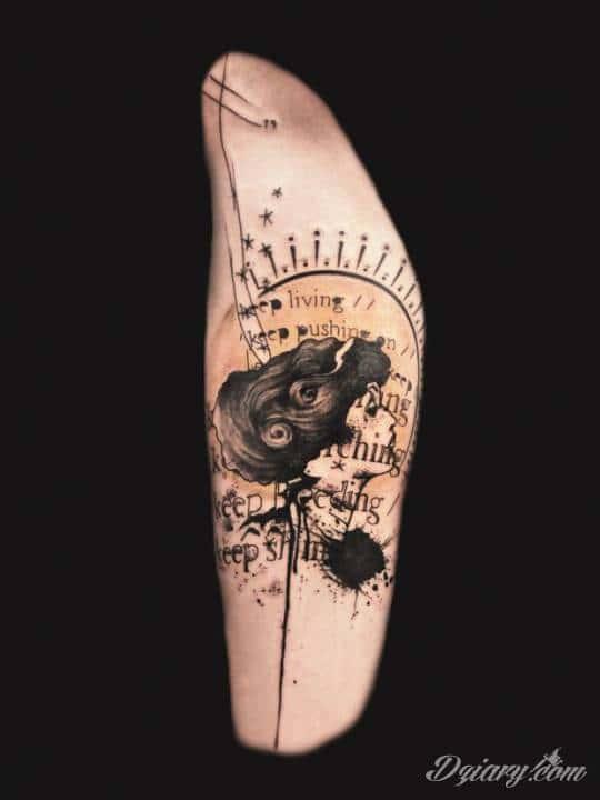 Piękne tatuaże autorstwa Xoila – francuskiego artysty, przywodzą na myśl...
