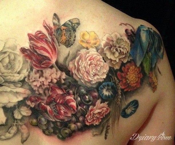 Znaczenie Kwiatów W Tatuażach
