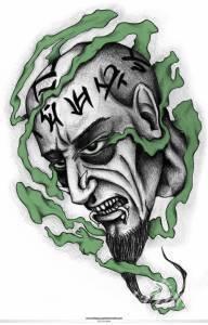 a jak wpisałam ''necromancer tattoo''...