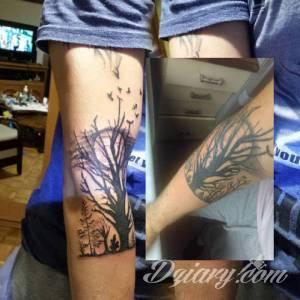 Ktoś kto tatuował w studio...