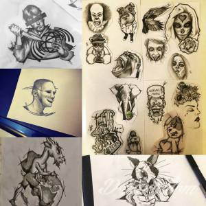 <p>i kilka szkicow</p>