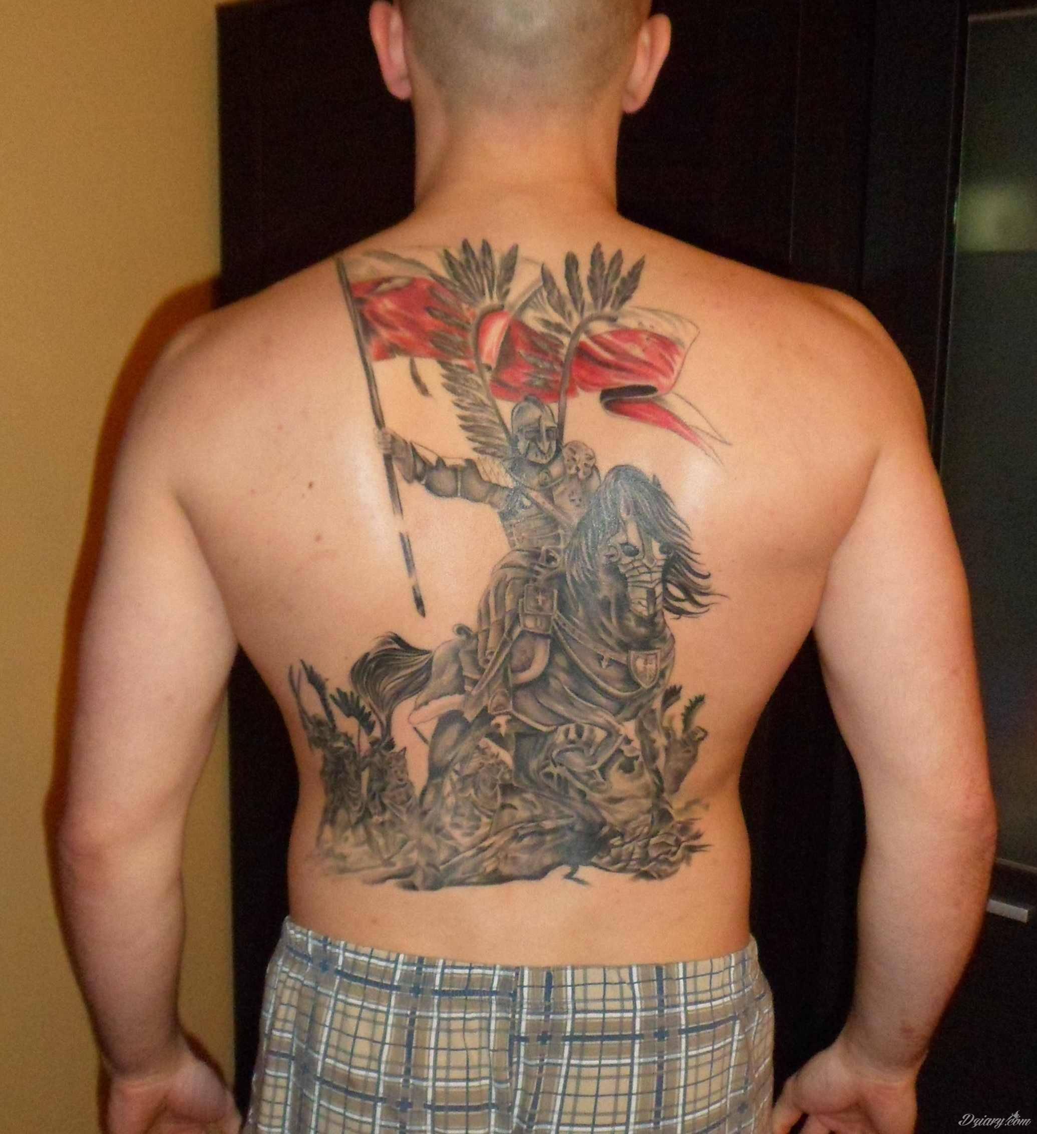 Husaria Wykończenie Pleców Forum O Tatuażu
