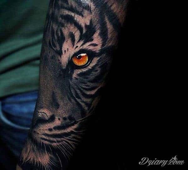 Tygrys Na Przedramieniu Tatuaże Forum