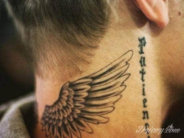 Szukam Wzoru Skrzydła Szyjakark Forum O Tatuażu