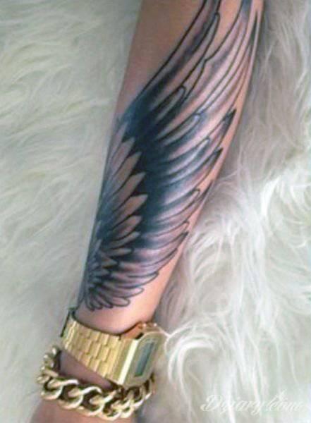 Skrzydło Przedramie Tatuaże Forum