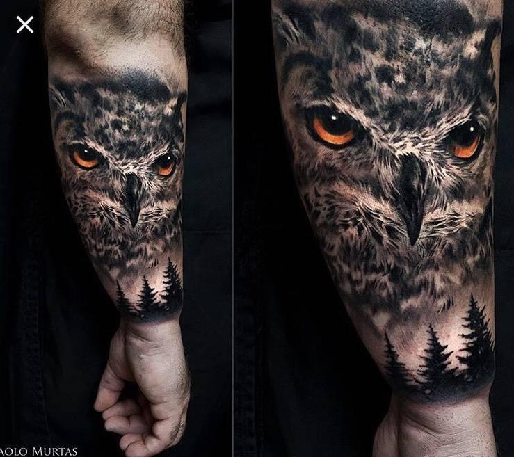 Koszt Sowy Tatuaż Tatuaże Forum