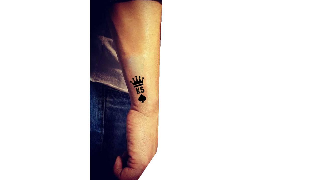 Wycena Tatuażu Inicjały Z Symbolami Tatuaże Forum