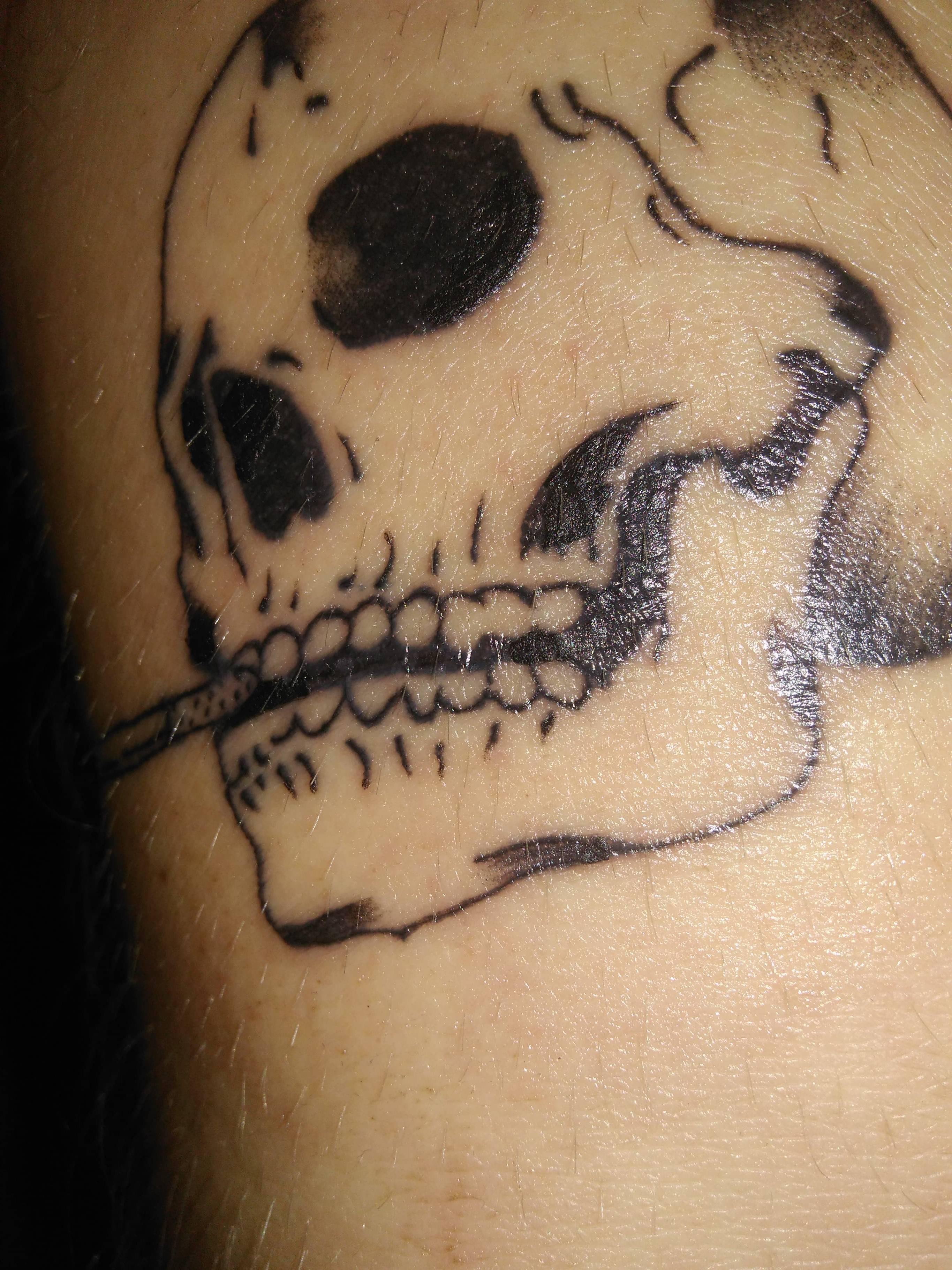 Rozlana Linia Blady Tusz Co Mogę Robić źle Tatuaże Forum